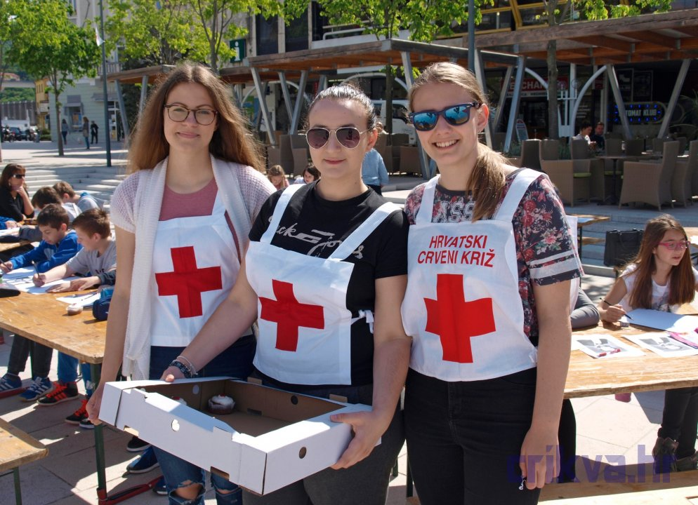 Poceo Tjedan Crvenog Kriza Predstavljene Aktivnosti Gdck